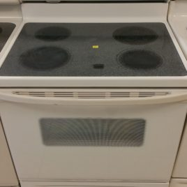 Bisque Whirlpool Stove