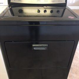 Black Kitchenaid Dryer