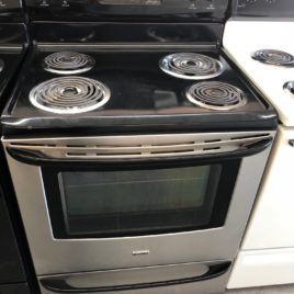 Stainless Kenmore Regular Coil Stove