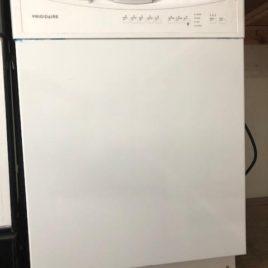 White Frigidaire Dishwasher