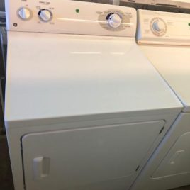 White GE Dryer