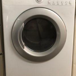 White LG Dryer