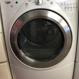 Whirlpool White Front Load Digital Dryer