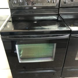 Whirlpool Black Glass Top
