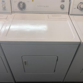State by Whirlpool White Dryer